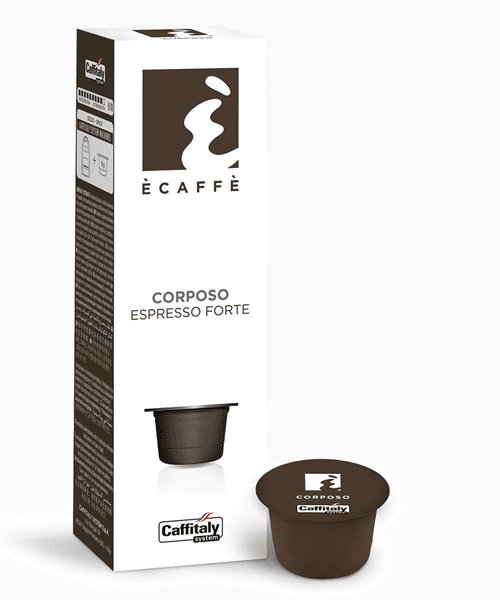 Ecaffe' Corposo for Caffitaly