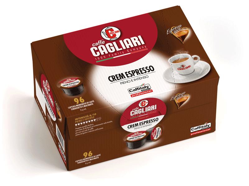 Cagliari CremEspresso for Caffitaly