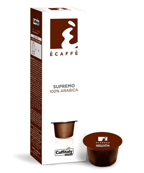 Ecaffe' Supremo 100% Arabica for caffitaly