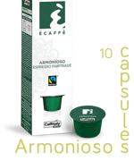 Ecaffe 10 Coffee Capsules Armonioso