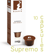 Ecaffe 10 Coffee Capsules Supremo