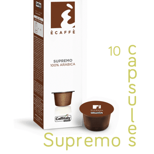 Ecaffe 10 Coffee Capsules Supremo